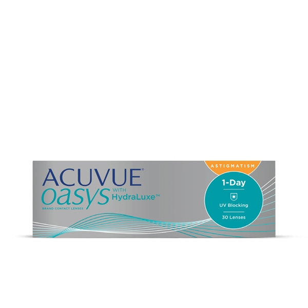 Acuvue Oasys 1-Day HydraLuxe Astigmatism 30er