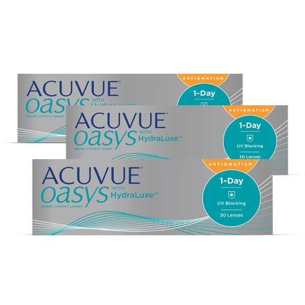 Acuvue Oasys 1-Day HydraLuxe Astigmatism 90er