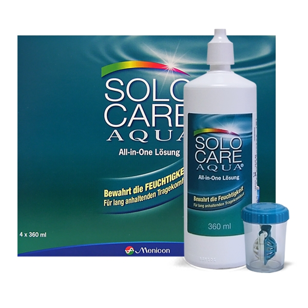 SoloCare Aqua 4 x 360 ml Vorratspack